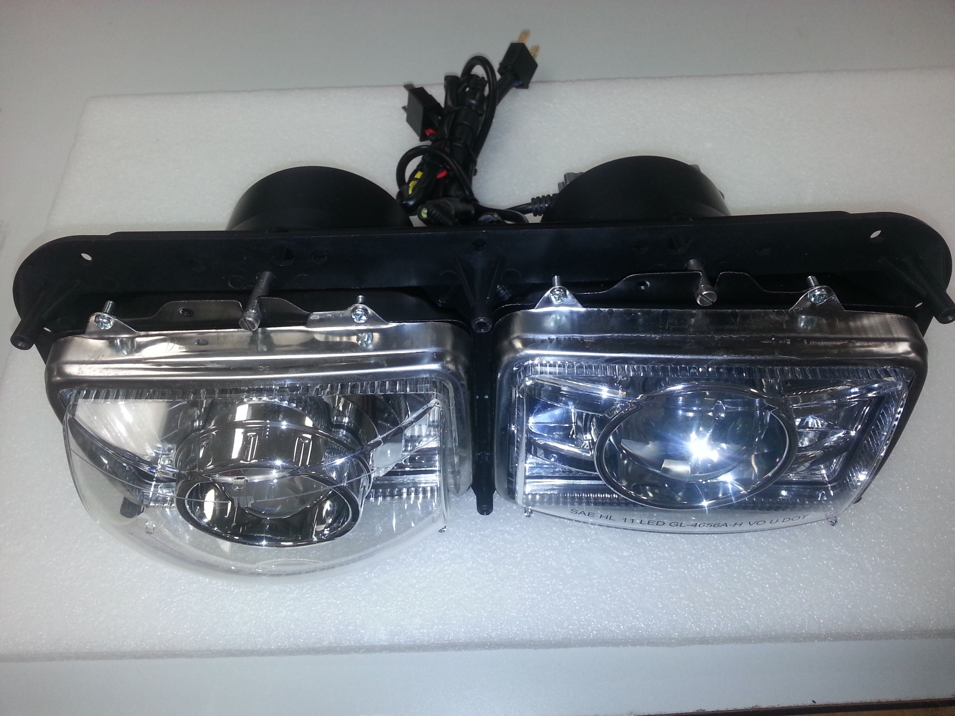 Xenon Hid Xp4656 Projector Low And Led High Beam Headlight